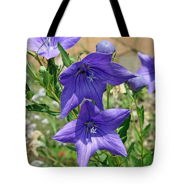 Tote Bag featuring the photograph Heavenly Purple by Ellen Tully