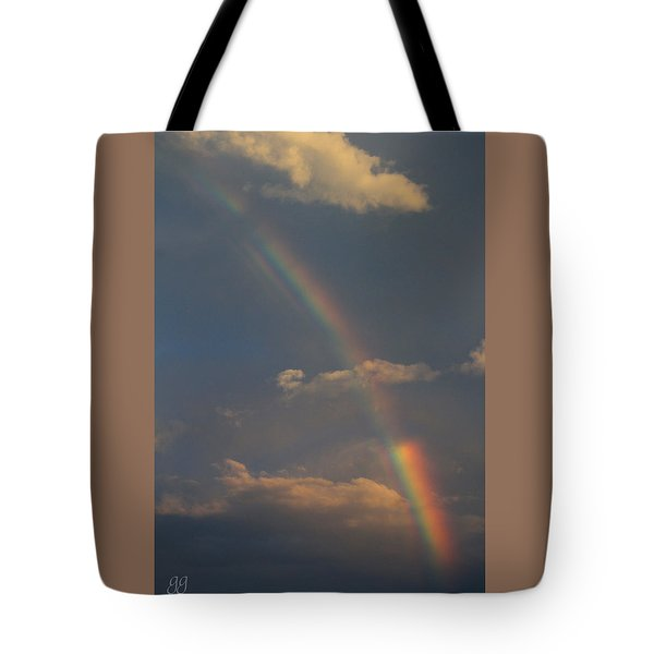 Heavenly Rainbow Tote Bag