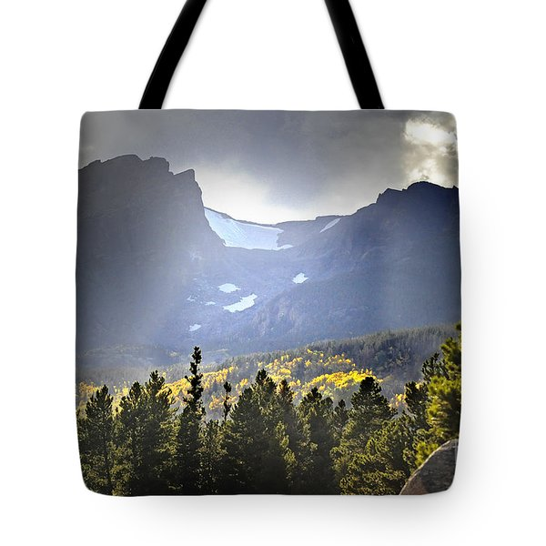 Tote Bag featuring the photograph Heavenly Rockies  Rmnp by Nava Thompson