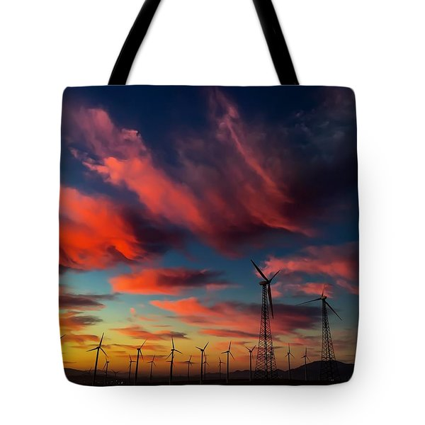 Heavenly Sunrise Tote Bag