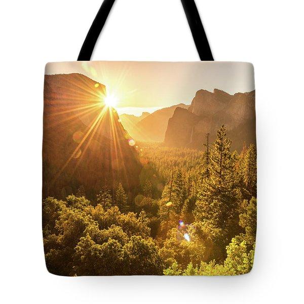 Heavenly Valley Tote Bag