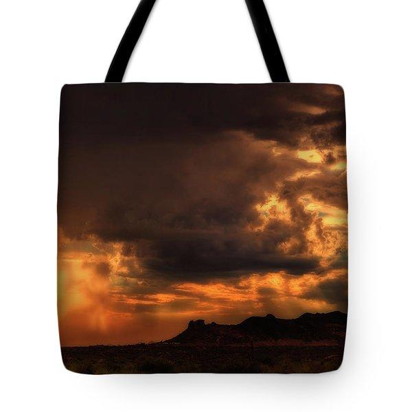 Heavenly Visitation Tote Bag