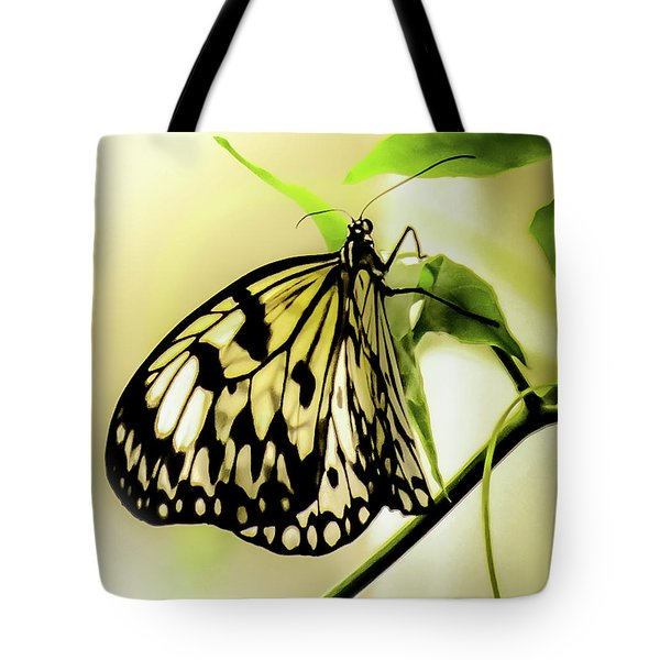 Heaven's Door Hath Opened Tote Bag by Karen Wiles
