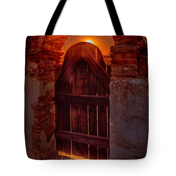 Heaven's Gate Tote Bag by Tim Bryan