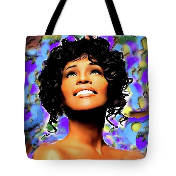 Heaven's Songbird Tote Bag