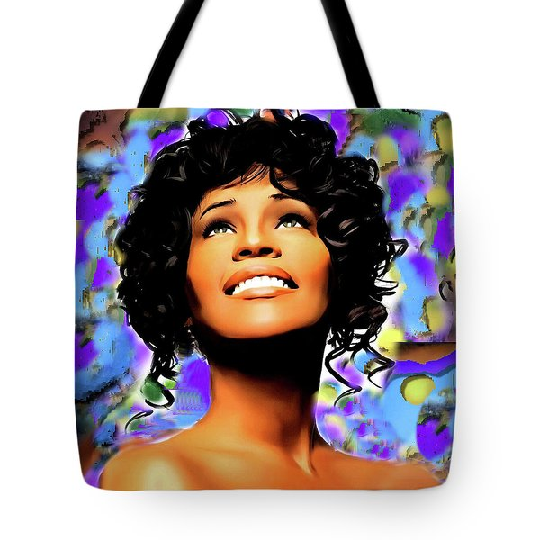 Heaven's Songbird Tote Bag