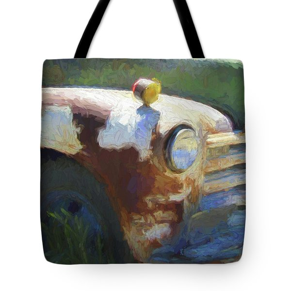 Heavy Chevy Dop Tote Bag
