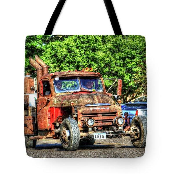 Heavy Duty Custom Dodge Tote Bag