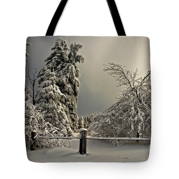 Heavy Laden Tote Bag