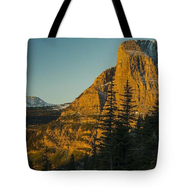 Heavy Runner Mountain Tote Bag