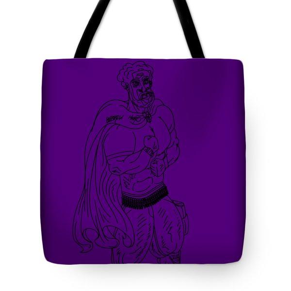 Hebrew Hero Tote Bag