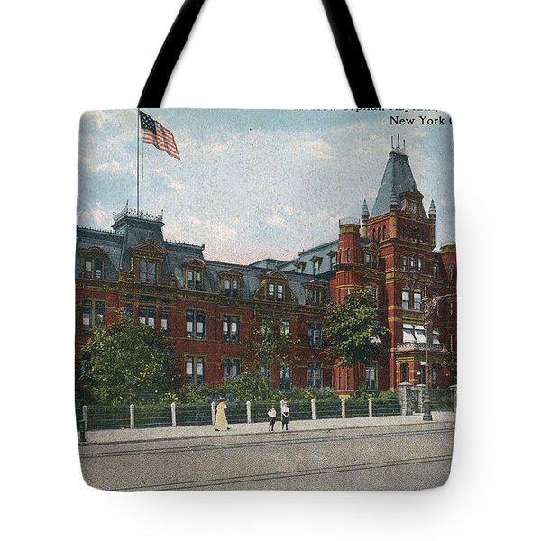 Tote Bag featuring the photograph Hebrew Orphan Asylum by Cole Thompson
