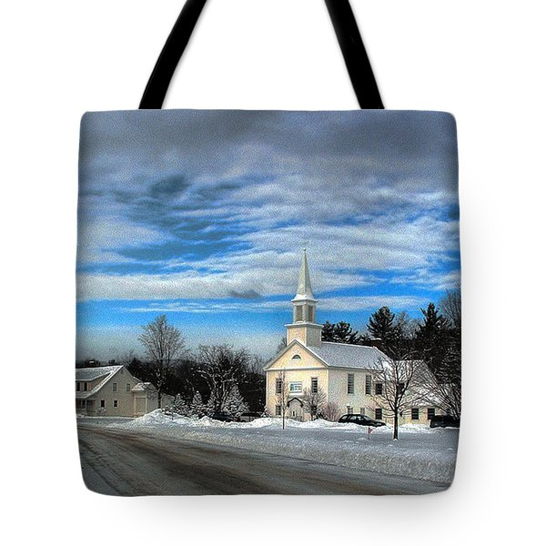 New Snow On Hebron Common Tote Bag