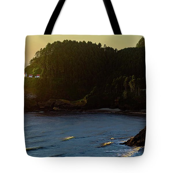 Tote Bag featuring the photograph Heceta Head Lighthouse by John Hight