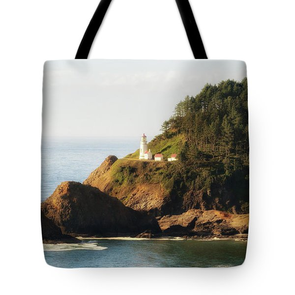 Tote Bag featuring the photograph Heceta Head Lighthouse by Michael Hope