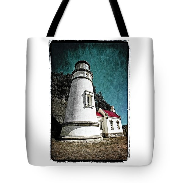 Hecitia Head Lighthouse Tote Bag