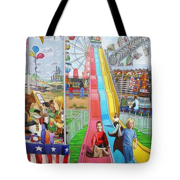 Hecksher Park Fair Tote Bag