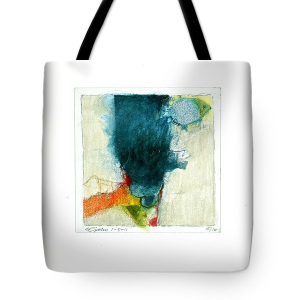 Tote Bag featuring the drawing Hedgefishog  --start-- by Cliff Spohn