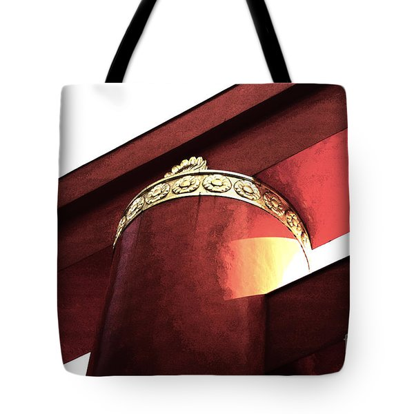 Tote Bag featuring the photograph Heian Tori I by Cassandra Buckley