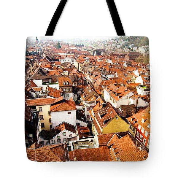 Heidelberg Cityscape Tote Bag