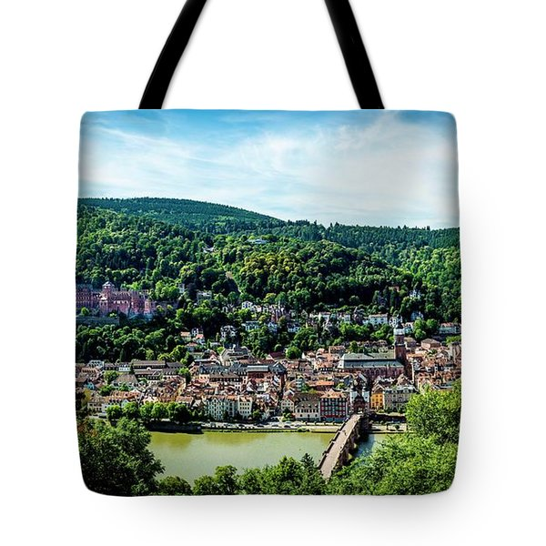 Tote Bag featuring the photograph Heidelberg Germany by David Morefield