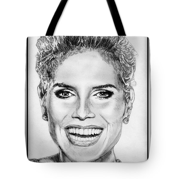 Heidi Klum In 2010 Tote Bag