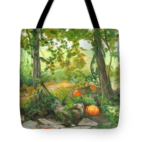Heidi's Pumpkins Tote Bag