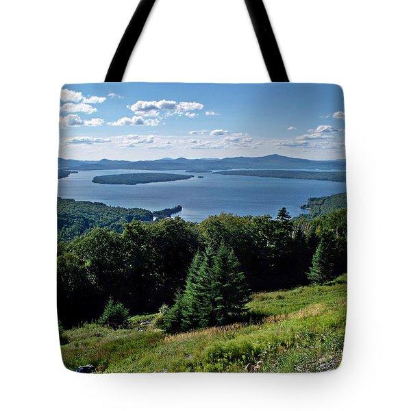 Height Of The Land Overlooking Mooselookmeguntic Lake Tote Bag