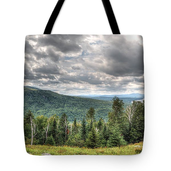 Height Of The Land Panorama Tote Bag