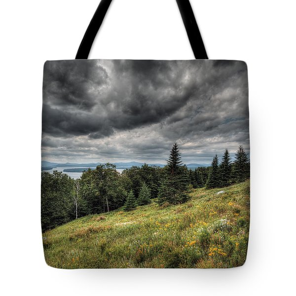 Height Of The Land Tote Bag