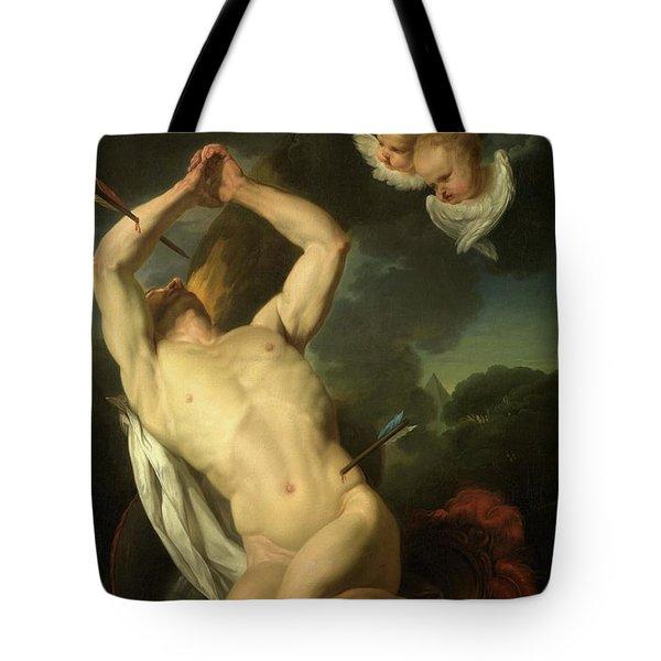 Heilige Sebastiaan Tote Bag