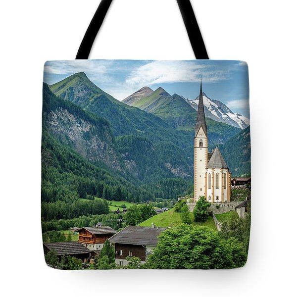 Heiligenblut Am Grossglockner Tote Bag