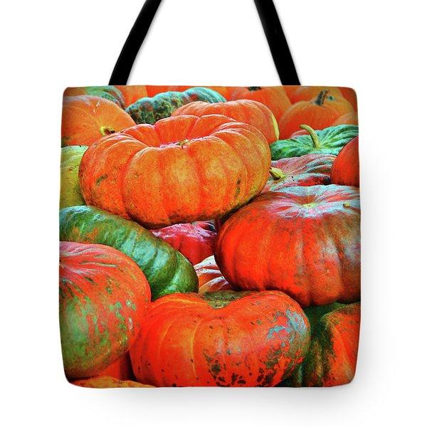Heirloom Pumpkins Tote Bag