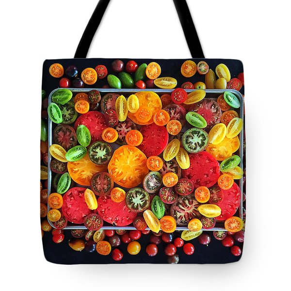 Heirloom Tomato Medley Tote Bag