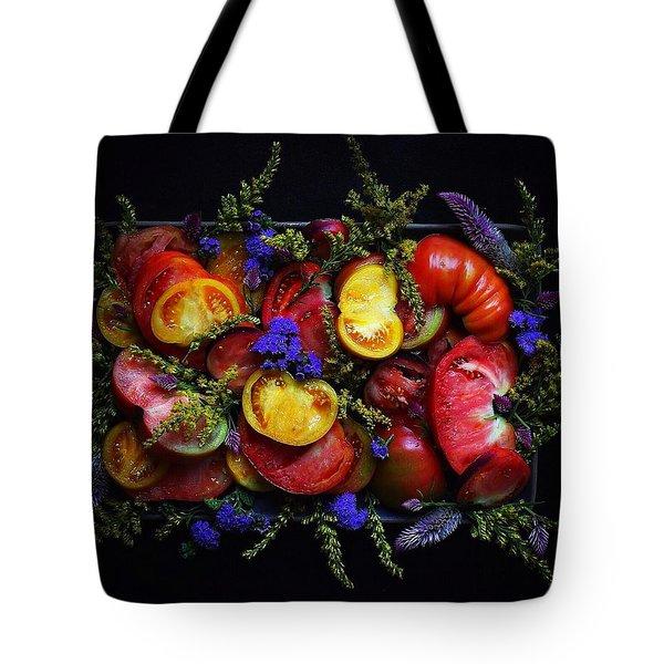 Heirloom Tomato Platter Tote Bag