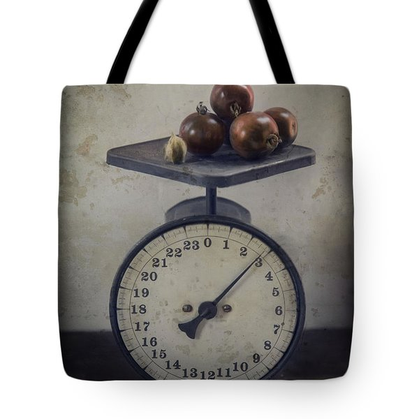 Tote Bag featuring the photograph Heirloom Tomato by Robin-Lee Vieira
