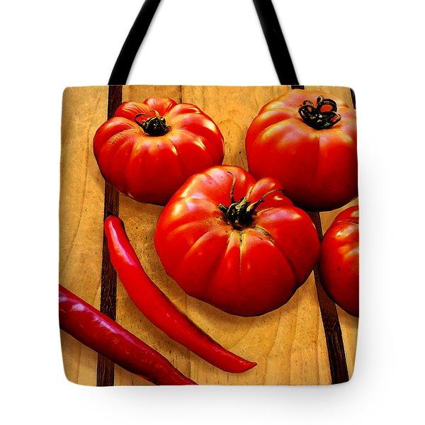 Heirloom Tomatoes Tote Bag