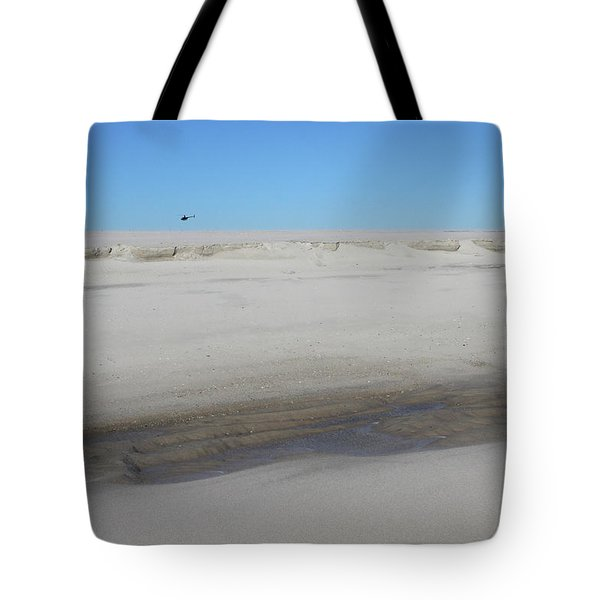 Helecopter Shirley New York Tote Bag