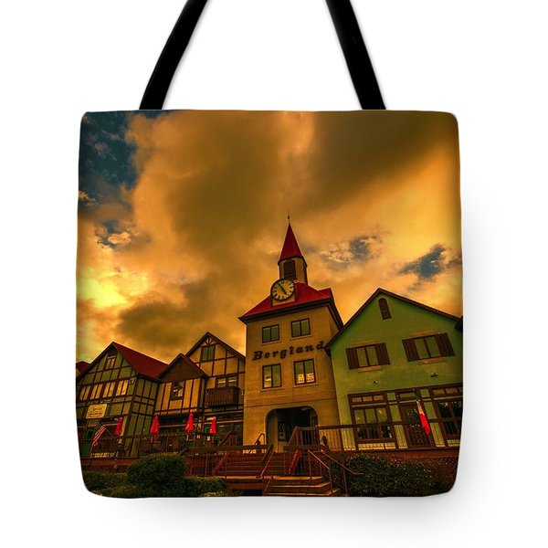 Helen Georgia Tote Bag by Dennis Baswell