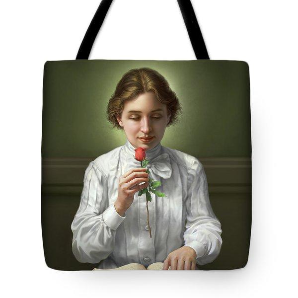 Helen Keller Tote Bag