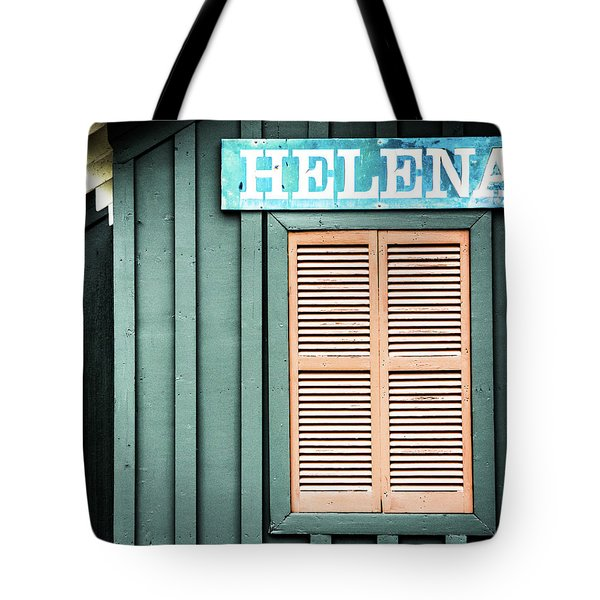 Tote Bag featuring the photograph Helena Sign On A Spring Day by Parker Cunningham