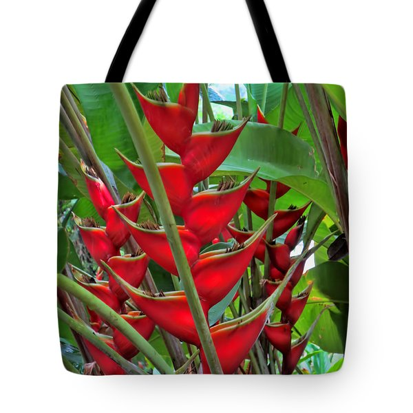 Heliconias Tote Bag