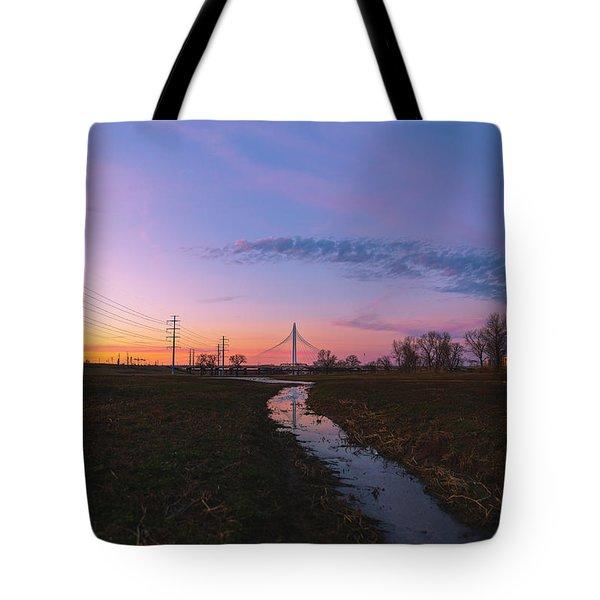 Heliotrope Tote Bag
