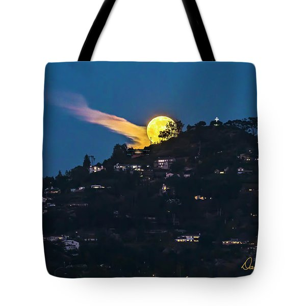 Helix Moon Tote Bag
