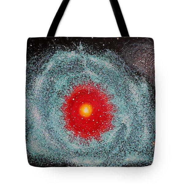 Helix Nebula Tote Bag by Georgeta  Blanaru