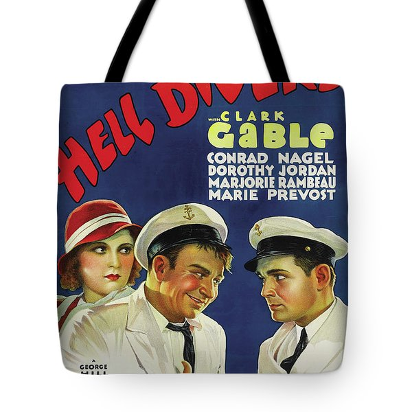 Hell Divers 1932 Tote Bag