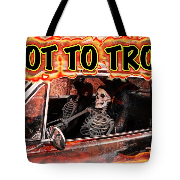 Hell Drive Tote Bag