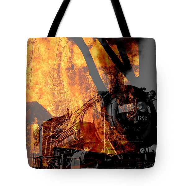 Hell Train Tote Bag