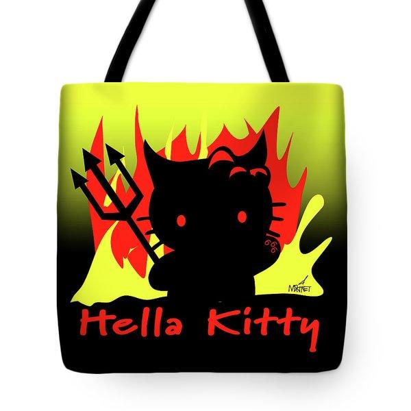 Hella Kitty Tote Bag