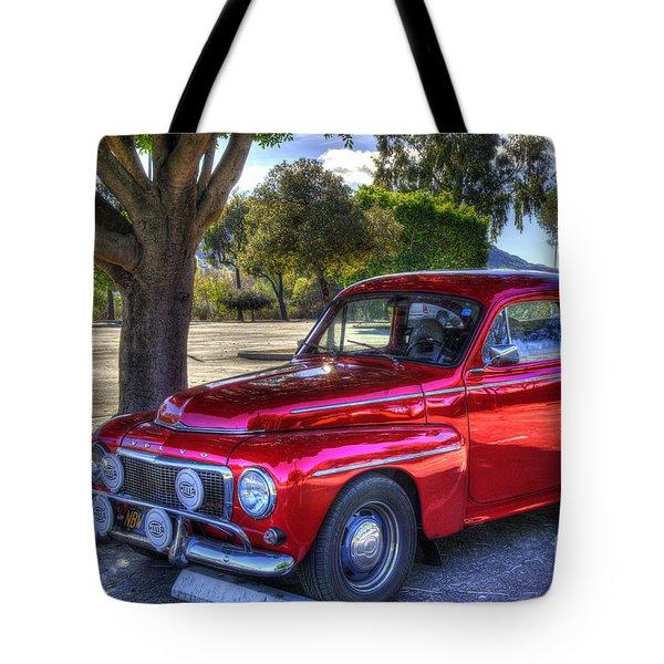 Hella Volvo Tote Bag